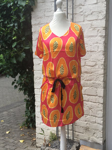 "Cute Stuff Dress ""PAPAYAKI"" Orange"