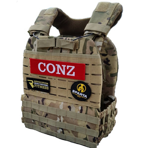 Camo tactical plate carrier
