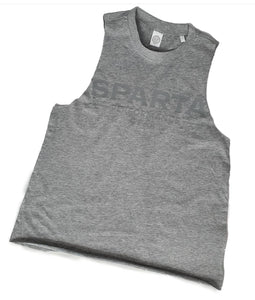 Grey on Grey Ladies Sleeveless Tee