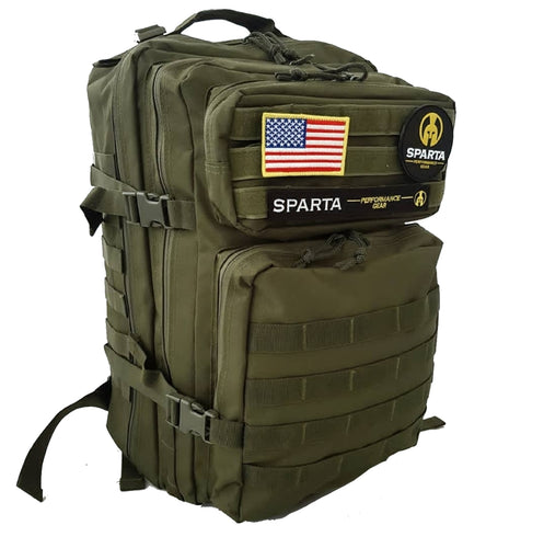 45 litre Army green tactical backpack