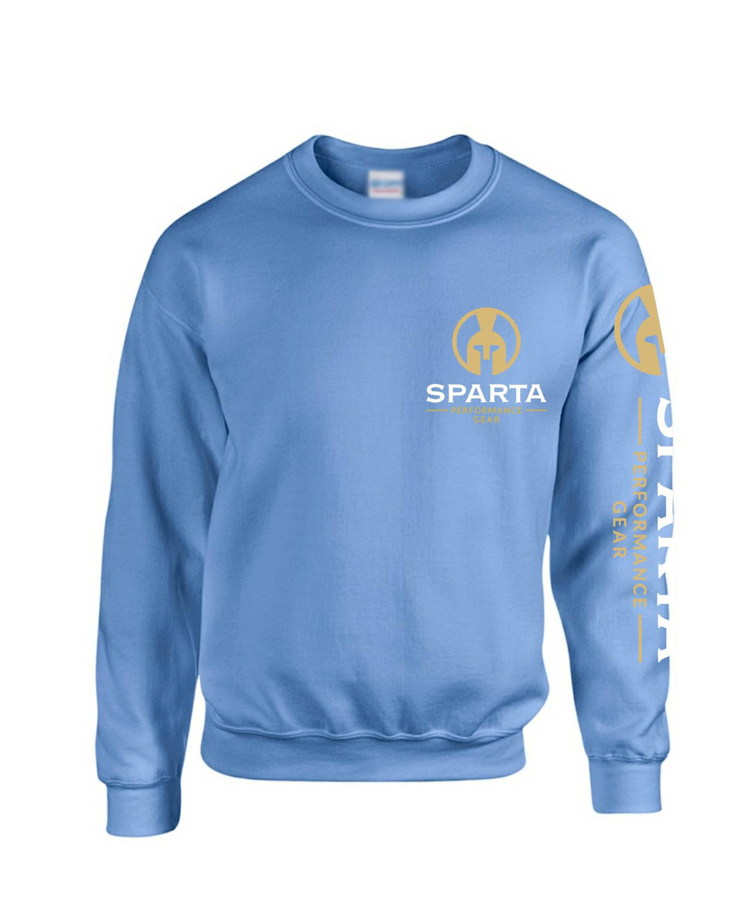 Unisex Carolina Blue Classic Chest Crest Heavy Blend Sweatshirt