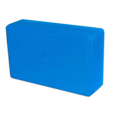 3 Foam Yoga Block - Blue - Accessory