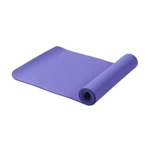 6MM Non-slip Yoga Mats - Purple - Accessory