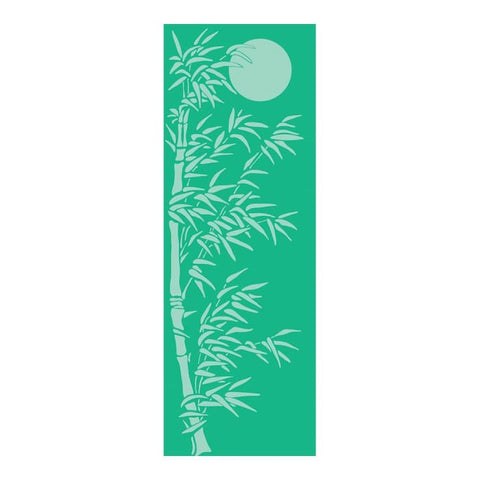 Bamboo Forest Yogi Mat - Green - Accessory