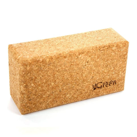 Wai Lana Green Cork Yoga Block - Accessory