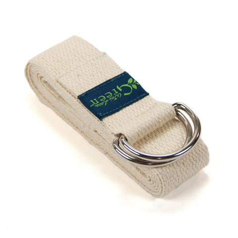 Wai Lana Green Organic Cotton Yoga Strap - Accessory