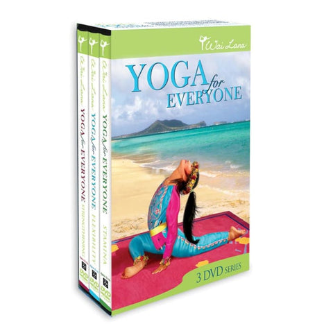Yoga for Everyone DVD Tripack - DVDs