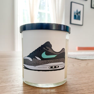 Air Max 1 Atmos Elephant Sneaker Candle - Pretty Honest Candles