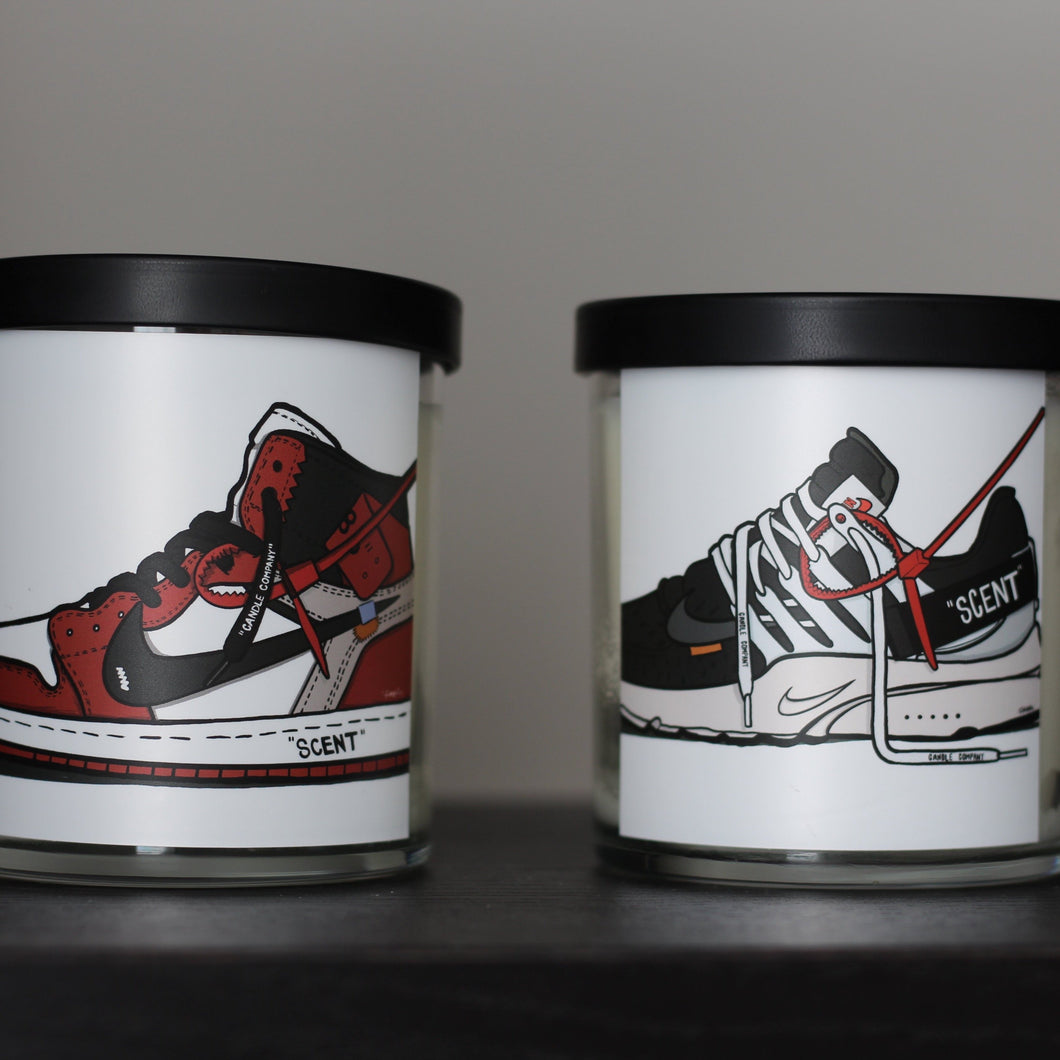Sneaker Pair Bundle | Soy Candles - Pretty Honest Candles