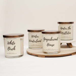 White Birch Soy Candle - Pretty Honest Candles
