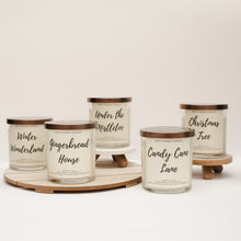 Load image into Gallery viewer, Winter Wonderland Soy Candle - Pretty Honest Candles