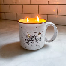 Load image into Gallery viewer, Winter Wonderland Mug Candle