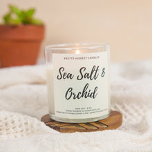 Load image into Gallery viewer, Sea Salt & Orchid Soy Candle