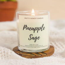 Load image into Gallery viewer, Pineapple Sage Soy Candle