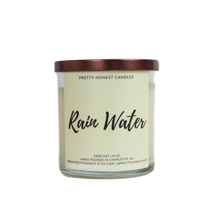 Rain Water Soy Candle - Pretty Honest Candles