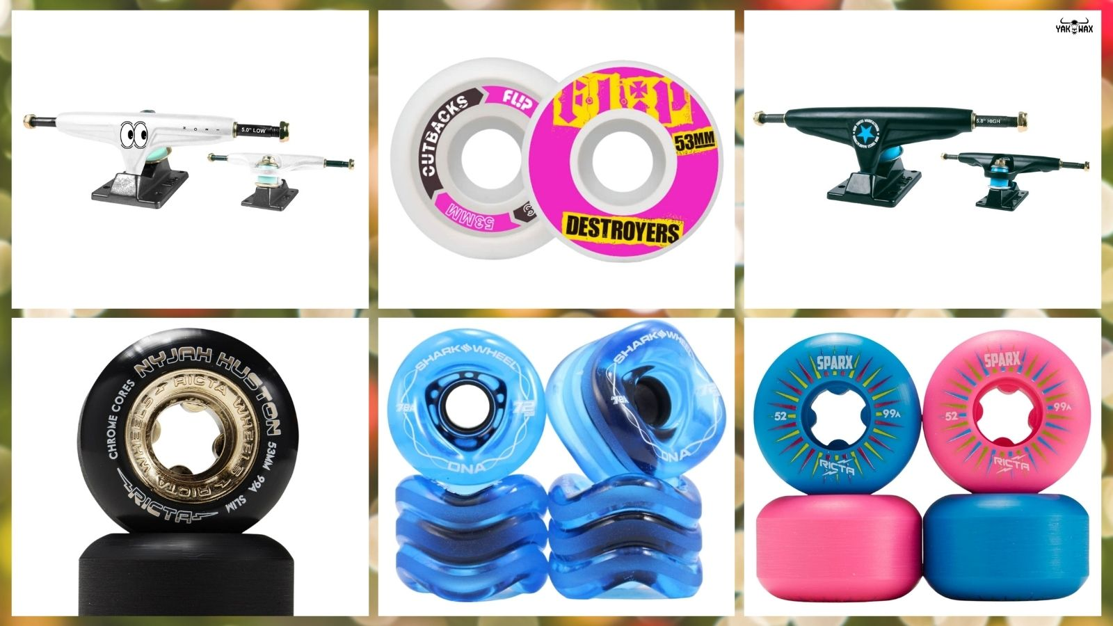 Rad Skateboard Components Holiday 2020 Drop Now Available at Yakwax!