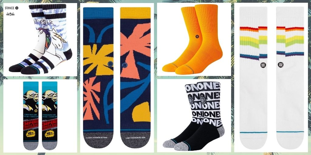 Stance-Mens-Crew-Length-Socks-Summer-2020-yakwax