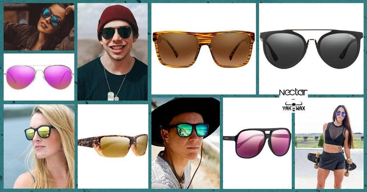 Cool Nectar Sunglasses 2018 Collection Now Available at Yakwax!