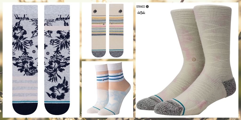 The Stance Women's Socks Spring 2020 Collection has Arrived at Yakwax!