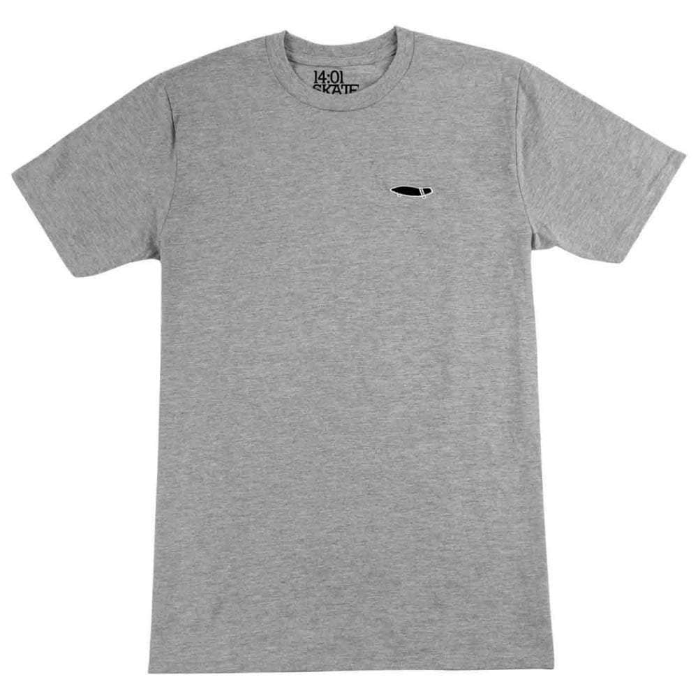 14:01 Cruise or Lose T-Shirt in Heather Grey Mens Graphic T-Shirt by 14:01
