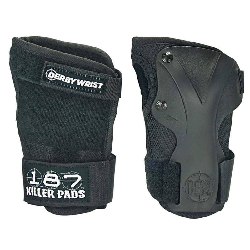 187-killer-pads-derby-wrist-guards-black