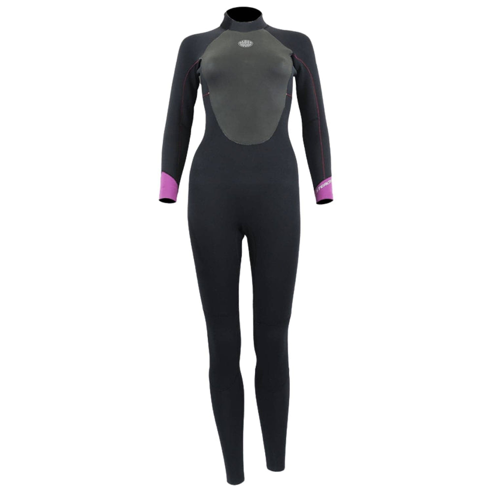 Alder Ladies Stealth 5/4/3mm Womens Wetsuit Graphite - Womens Full Length Wetsuit by Alder 6 (small)
