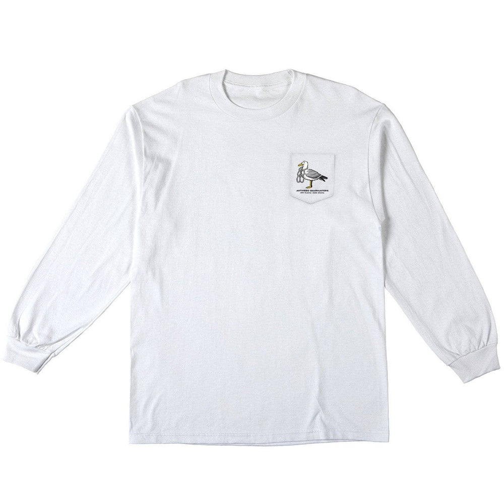 Anti Hero x Gnarhunters L/S T-Shirt - White