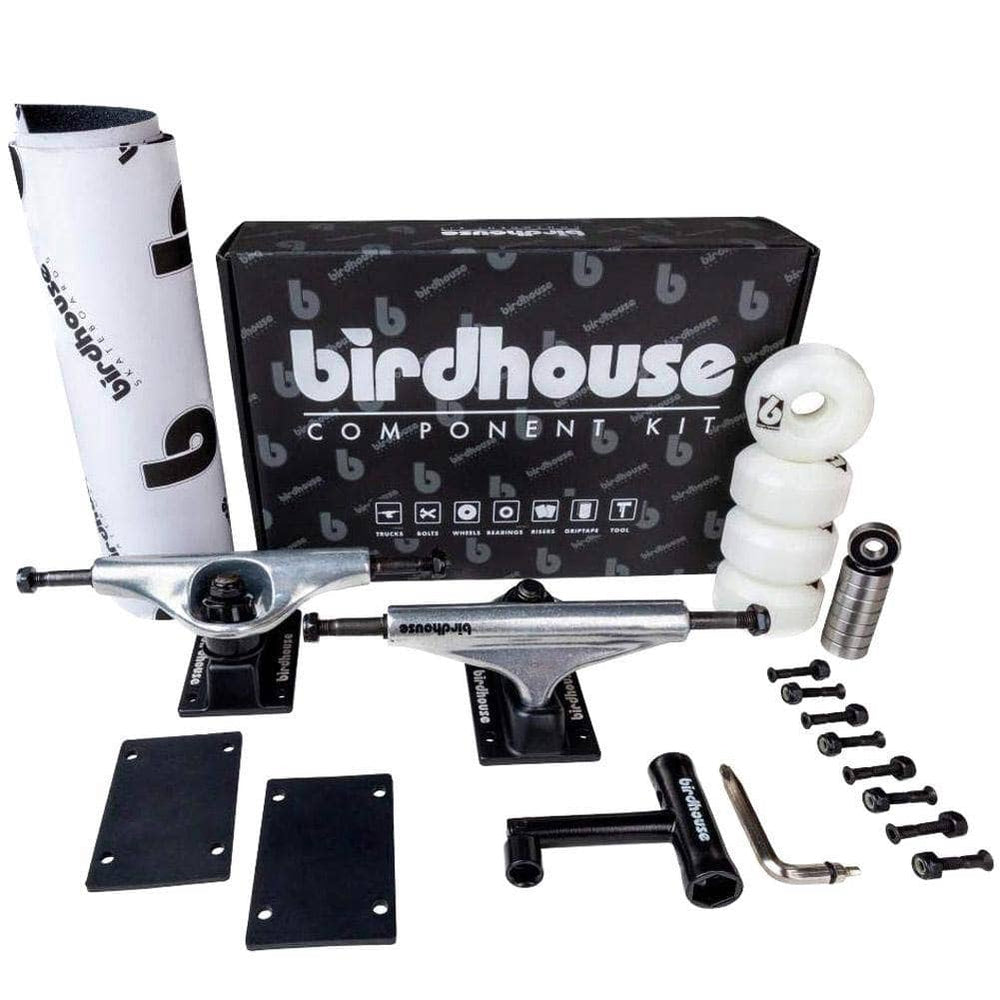Birdhouse B Logo Component Kit Raw - 5.25in
