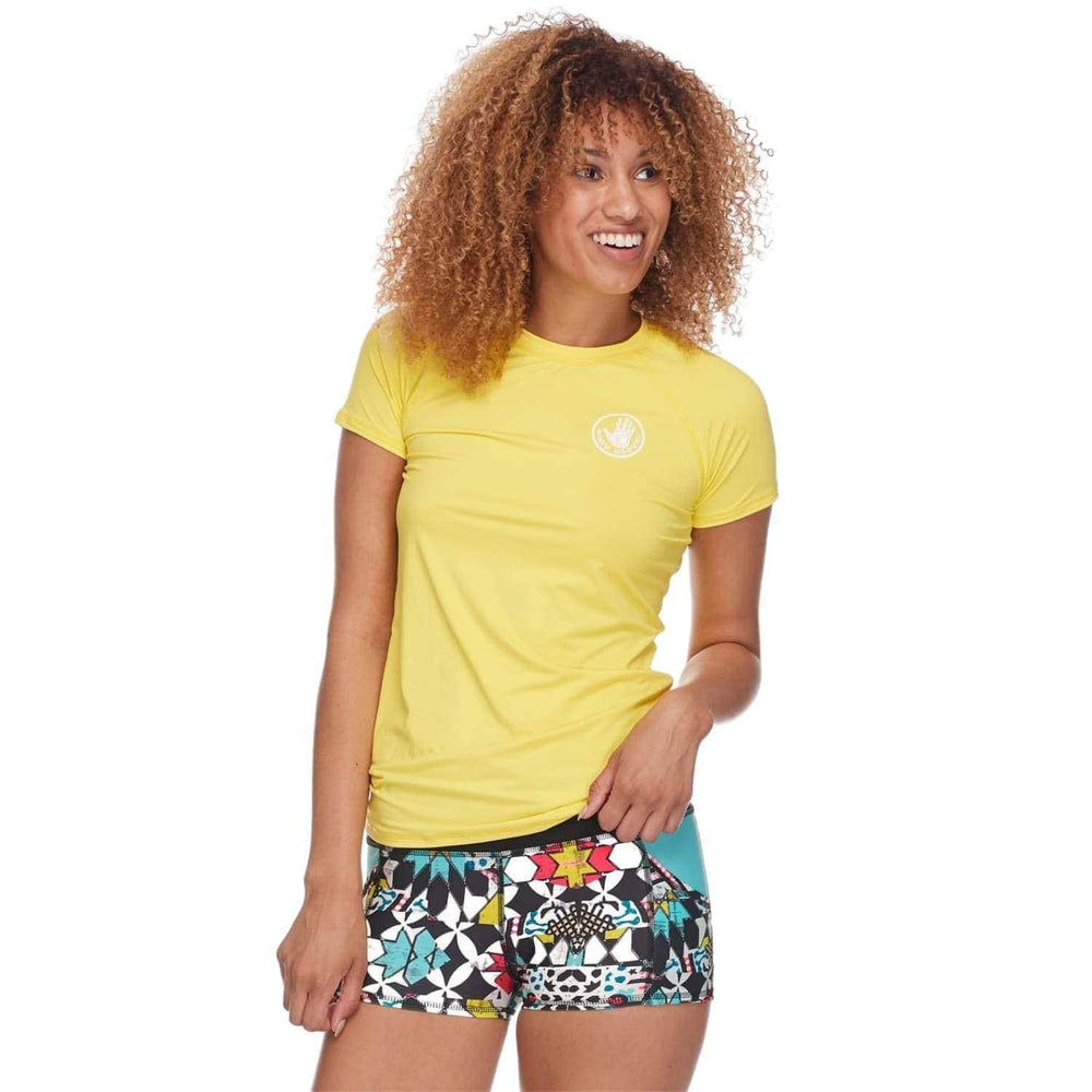 Body Glove Womens In Motion S/S Rash Vest Citrus