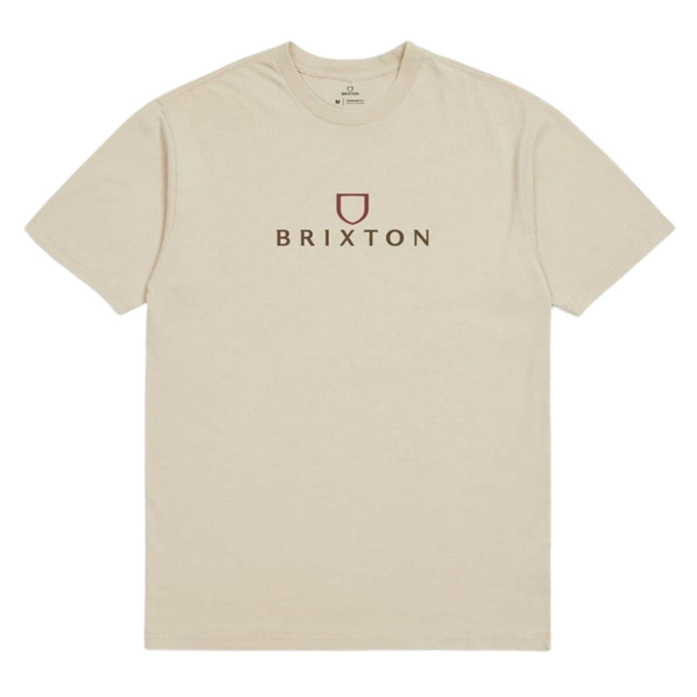 Brixton Alpha Thread T-Shirt - Cream