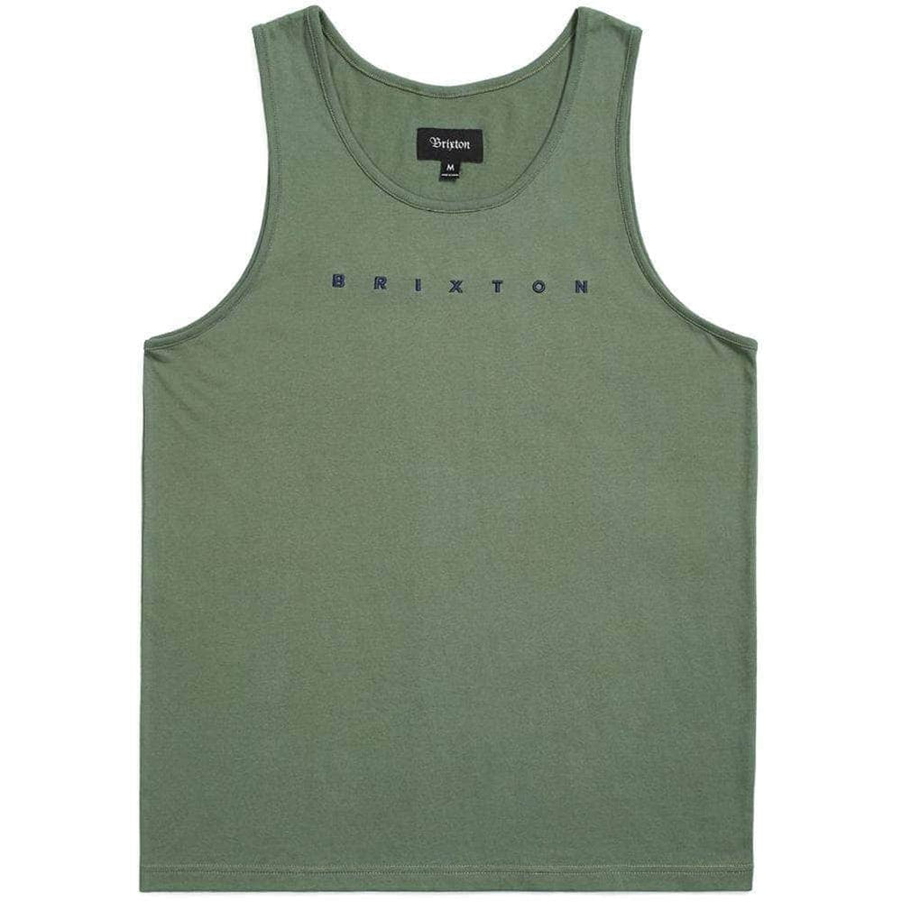 Brixton Cantor Tank Cypress Mens Surf Brand Vest/Tank Top by Brixton