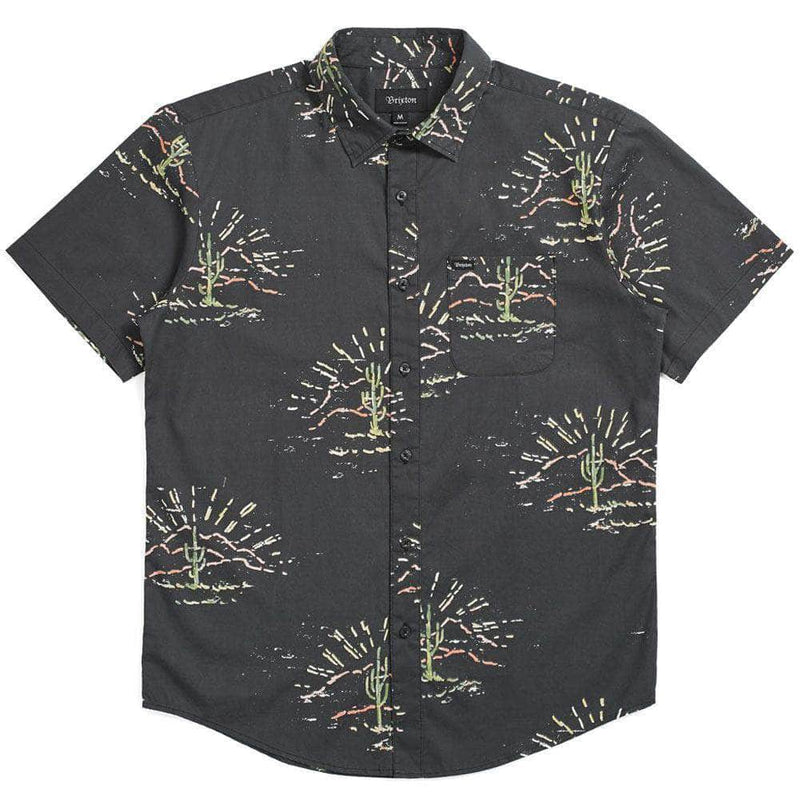 brixton-charter-print-woven-shirt-washed-black