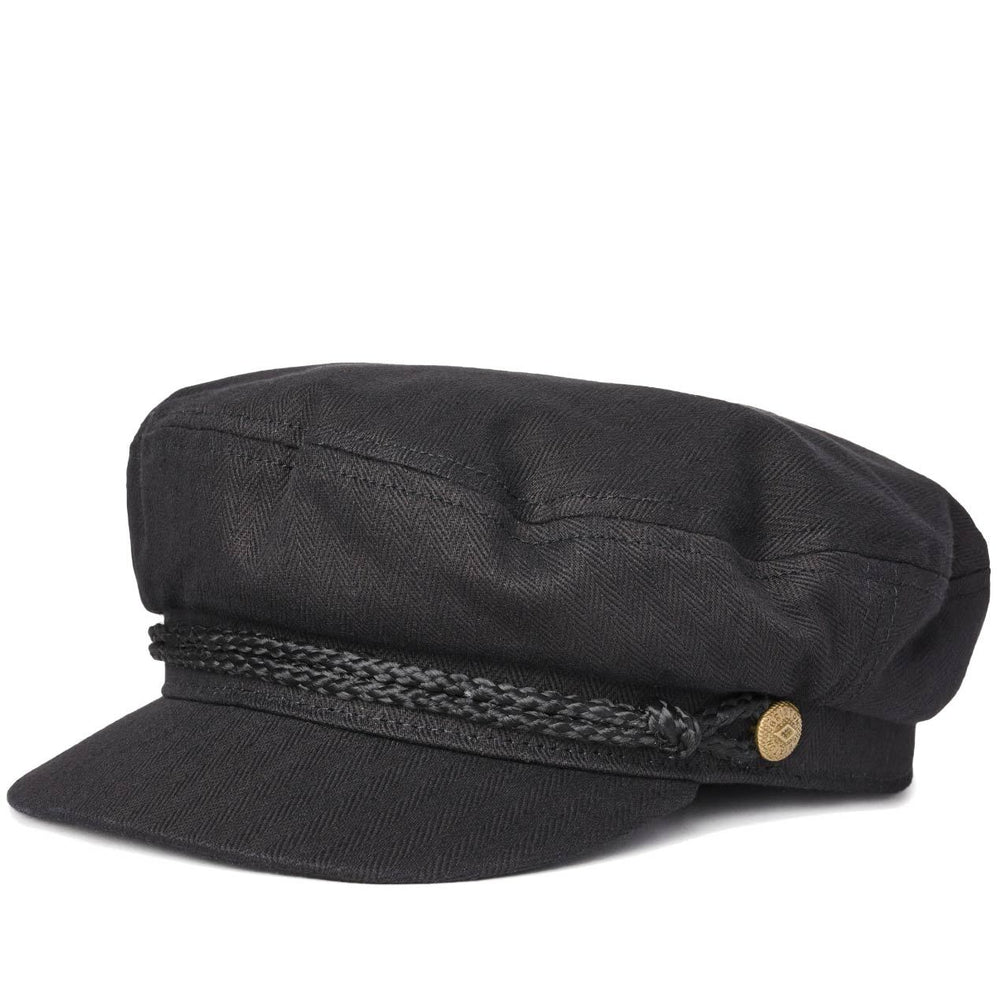 Brixton Fiddler Cap Black Fedora/Trilby Hat by Brixton