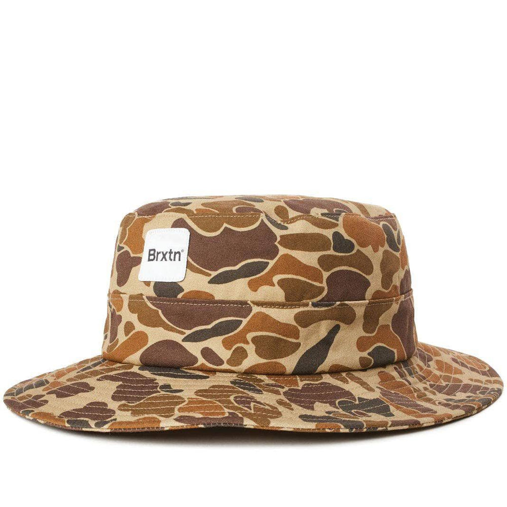 Brixton Gate Bucket Hat Duck Camo Bucket Hat by Brixton
