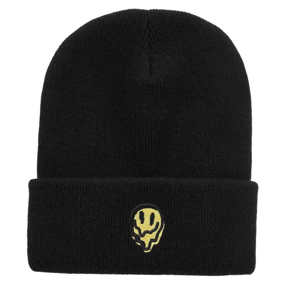 Brixton Melter Watch Cap Beanie Black (FA20) One Size - Fold Beanie by Brixton