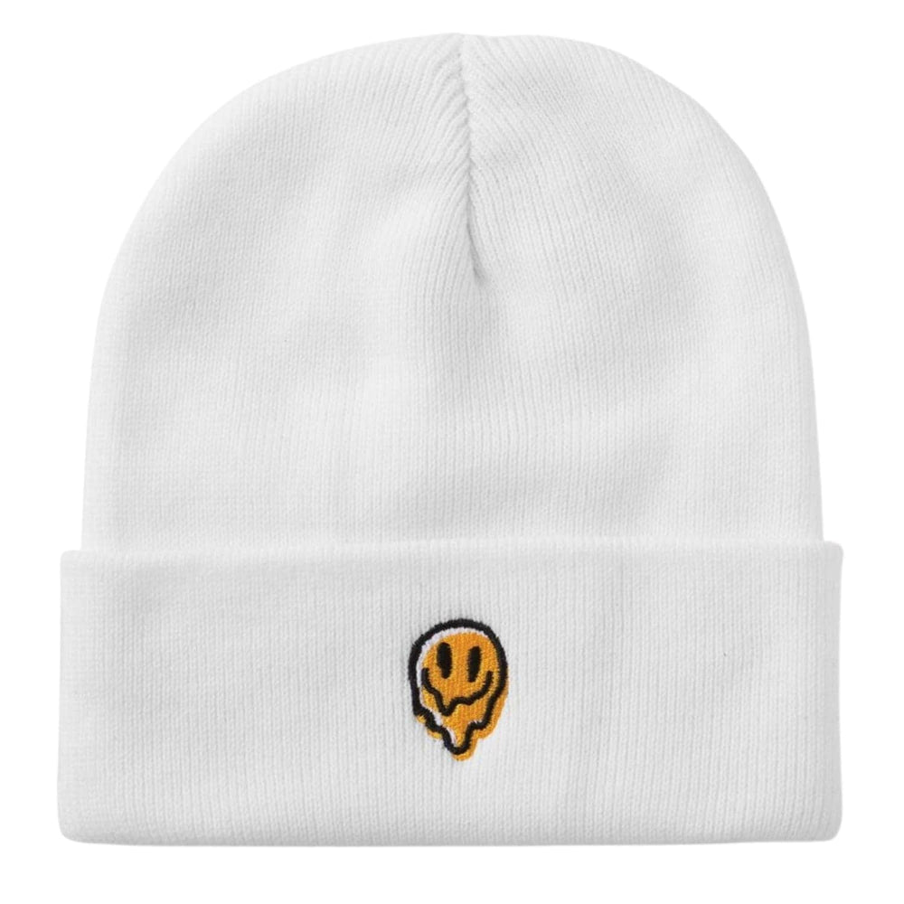Brixton Melter Watch Cap Beanie White One Size - Fold Beanie by Brixton