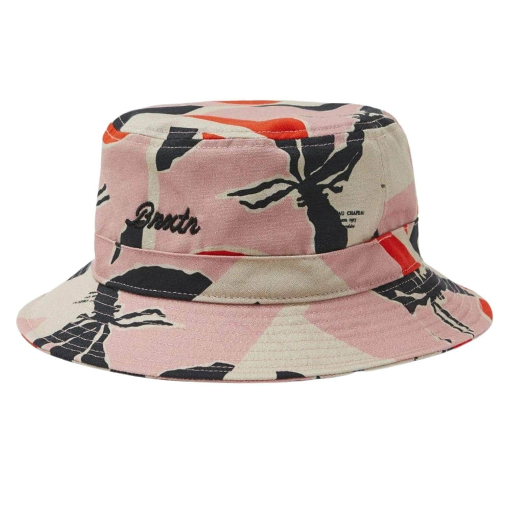Brixton Sprint Packable Bucket Hat Pink Red - Bucket Hat by Brixton