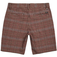 Brixton Toil II Shorts Aluminium Plum Mens Walk Shorts by Brixton