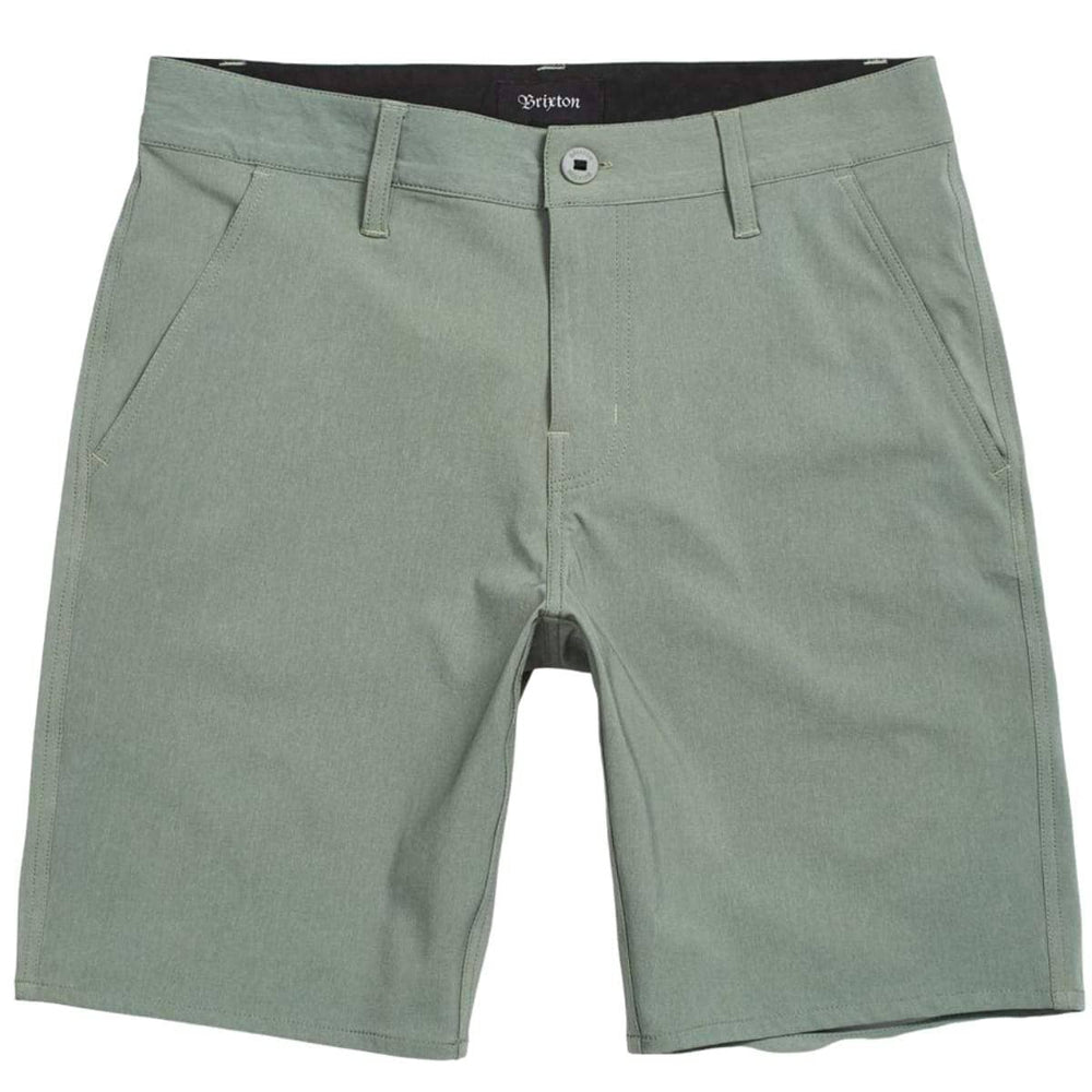 Brixton Toil X Hybrid Walkshort - Heather Cypress