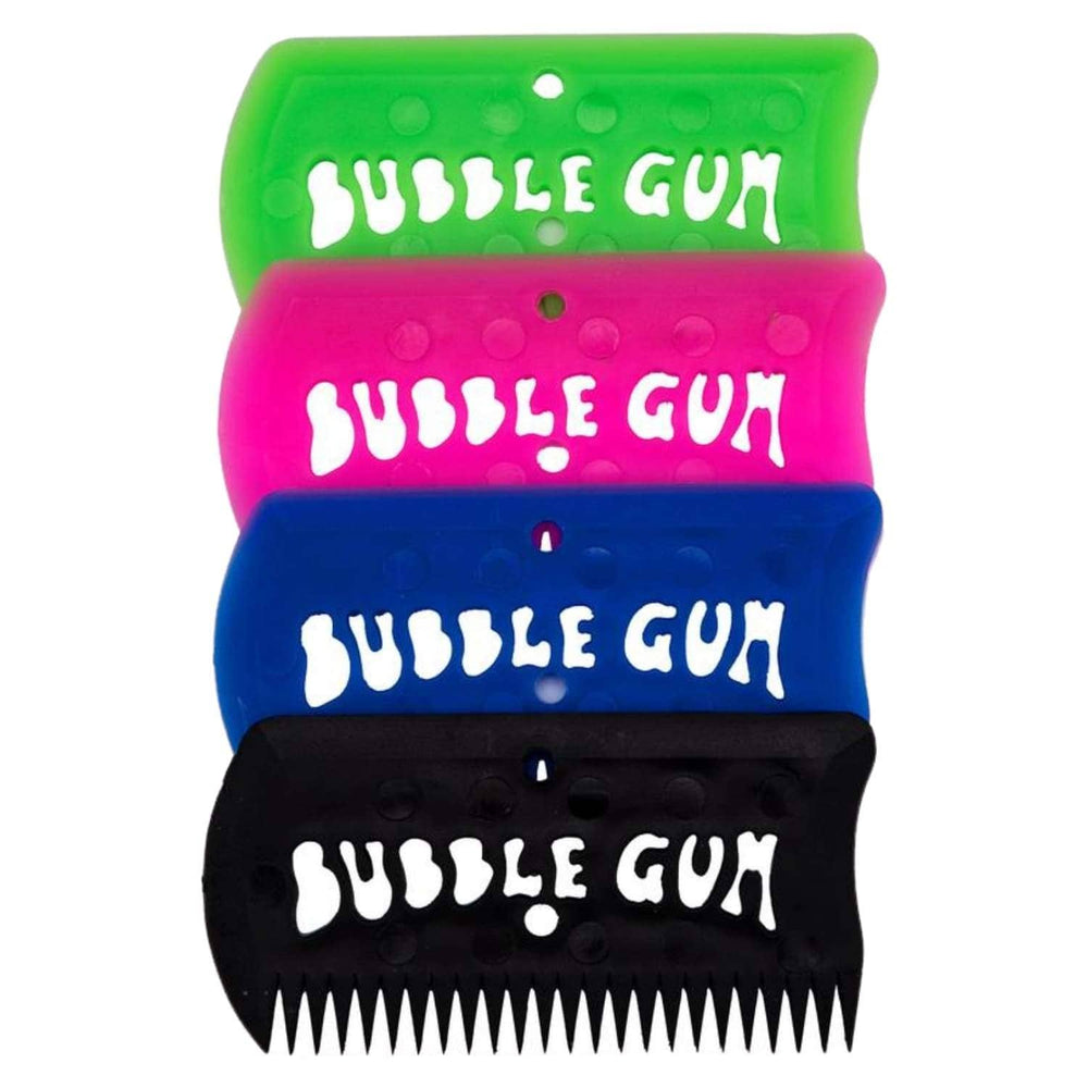 Bubble Gum Surfboard Wax Comb - Surf Wax Remover by Bubble Gum