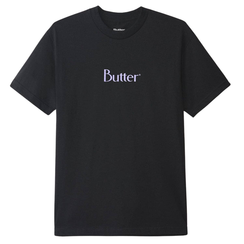 Butter Goods Classic Logo T-Shirt - Black - Mens Graphic T-Shirt by Butter Goods