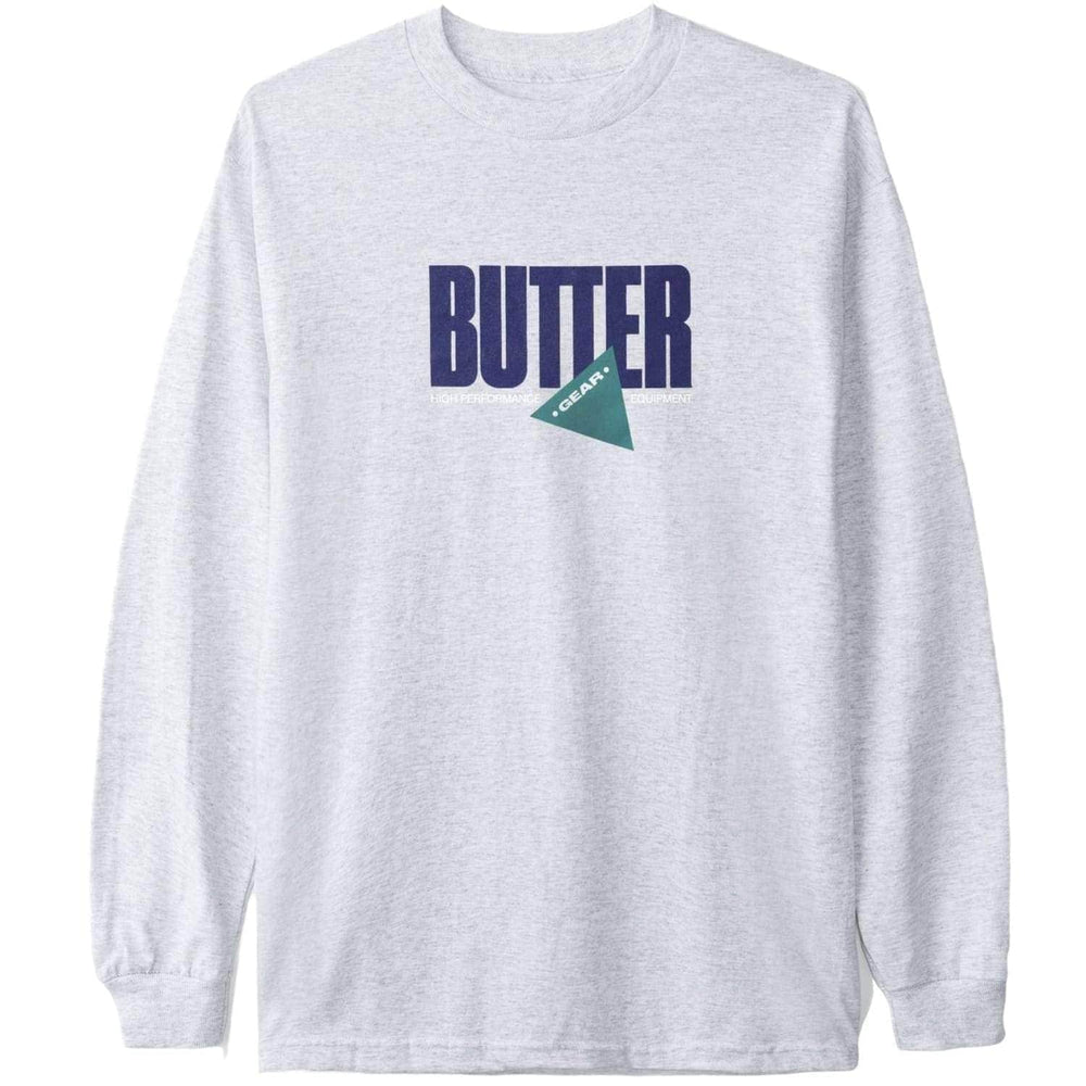 Butter Goods Gear L/S T-Shirt - Ash Grey