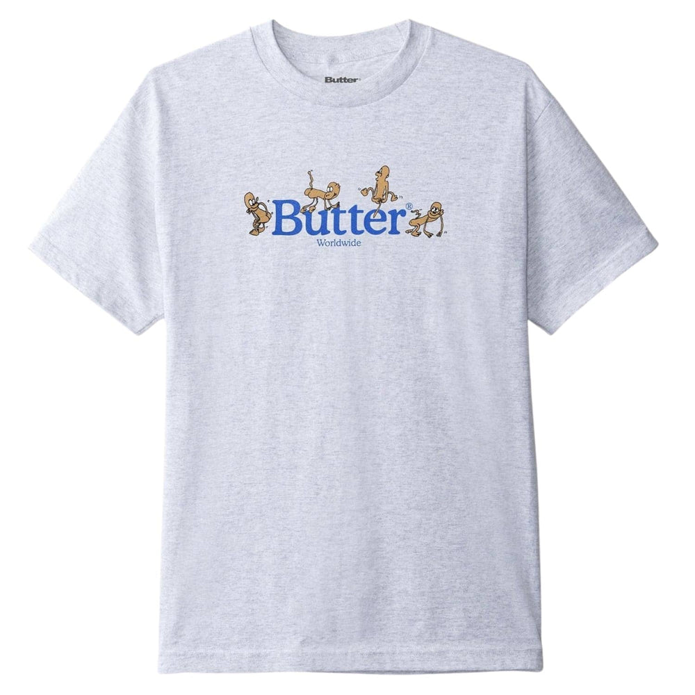 Butter Goods Monkey T-Shirt - Grey