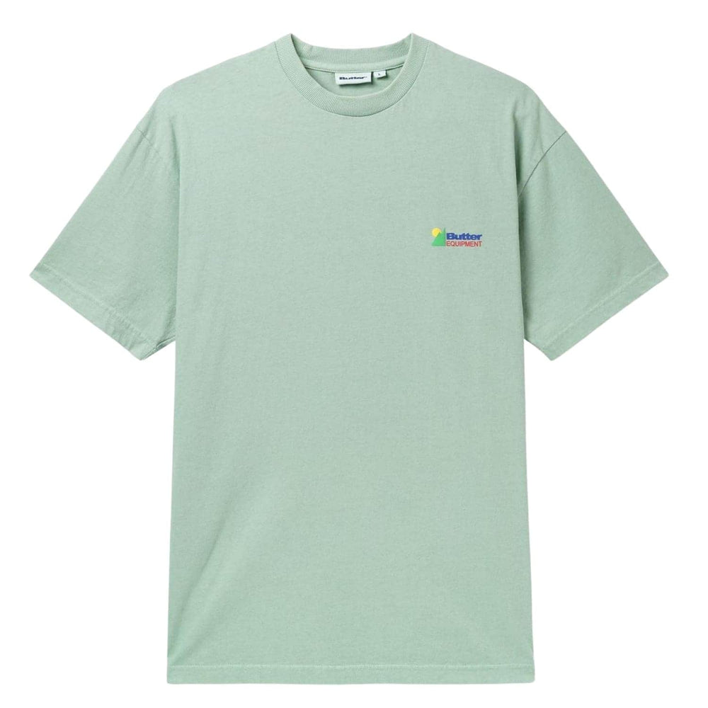 Butter Goods Equipment Pigment T-Shirt Mint - Mens Graphic T-Shirt by Butter Goods