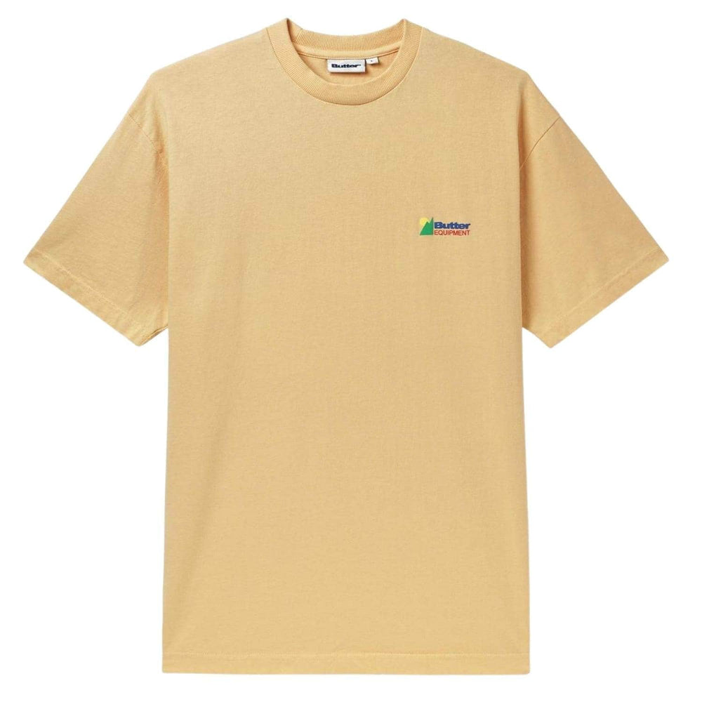 Butter Goods Equipment Pigment T-Shirt - Squash - Mens Graphic T-Shirt by Butter Goods