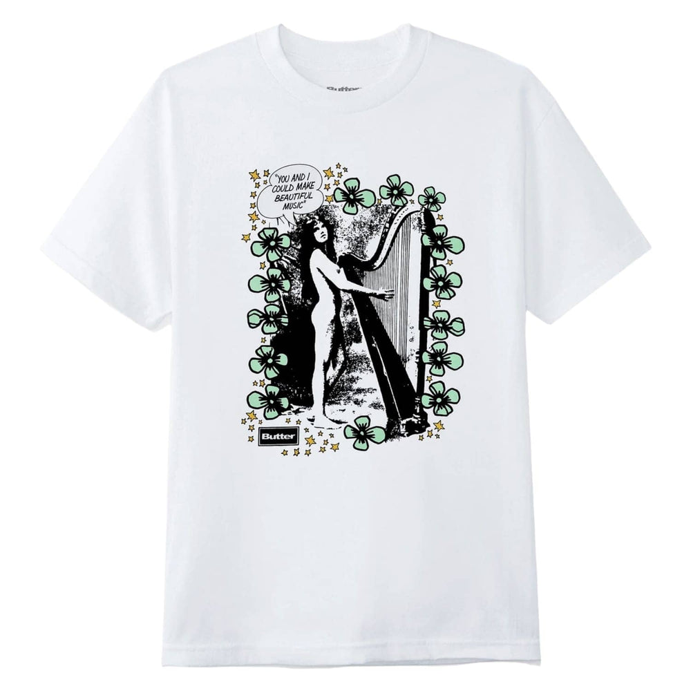 Butter Goods Harp T-Shirt - White