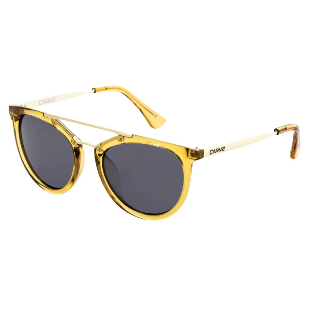 Carve Amalfi Polarized Sunglasses - Crystal Gold Polarized