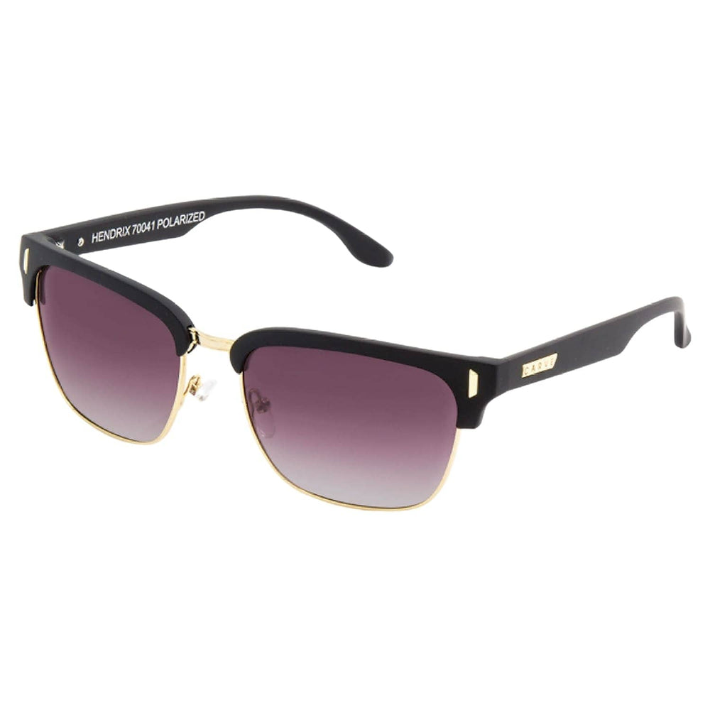 Carve Hendrix Polarised Casino Edition Sunglasses - Matt Black/Purple Polarised