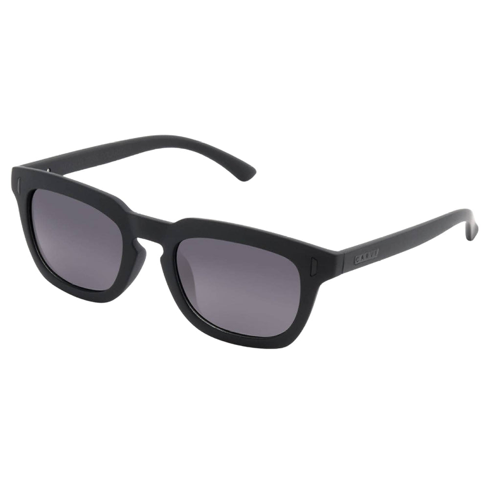 Carve Jackson Sunglasses - Casino Collection Matt Black Grey Polarized N/A - Round Sunglasses by Carve