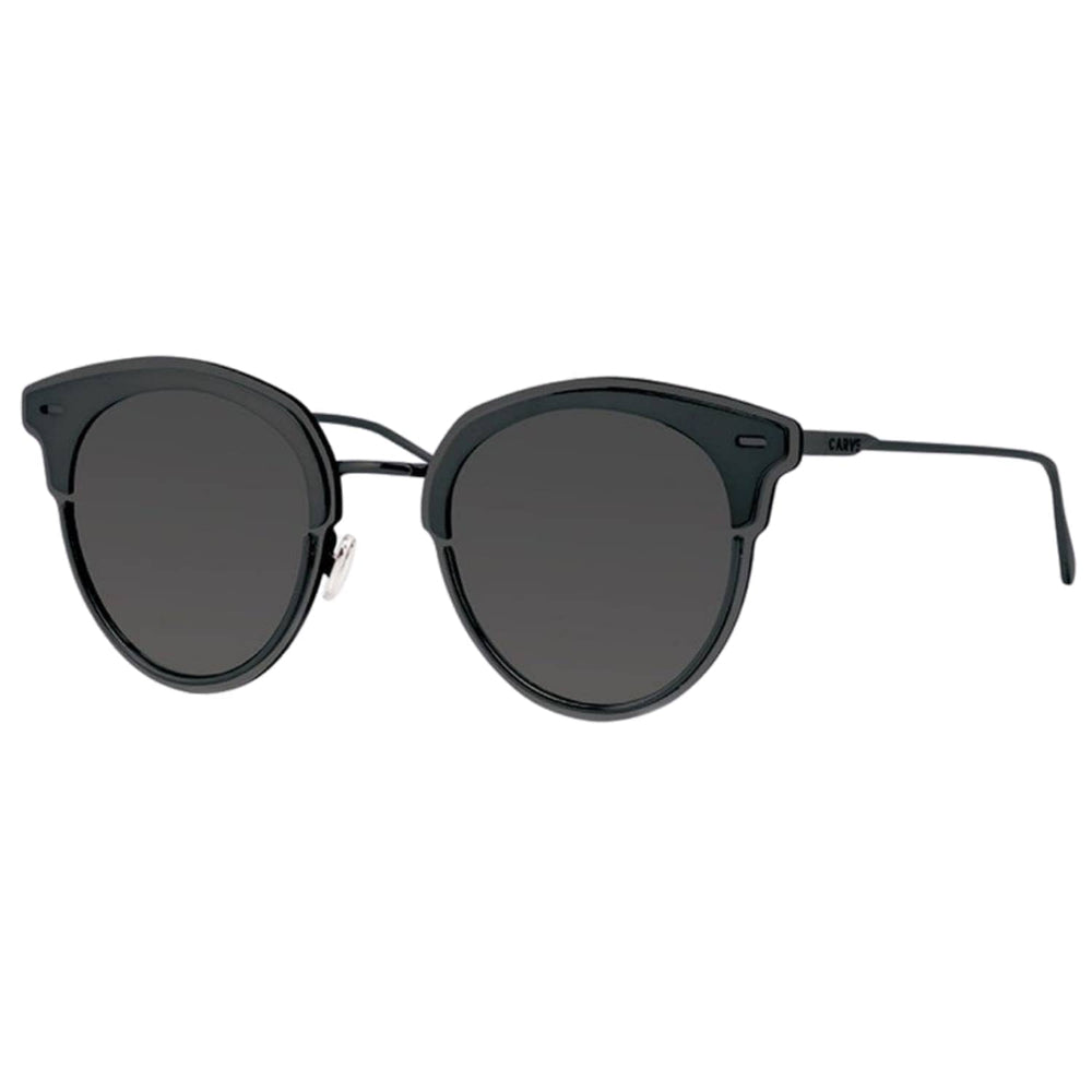 Carve Santorini Sunglasses - Black Revo - Round Sunglasses by Carve